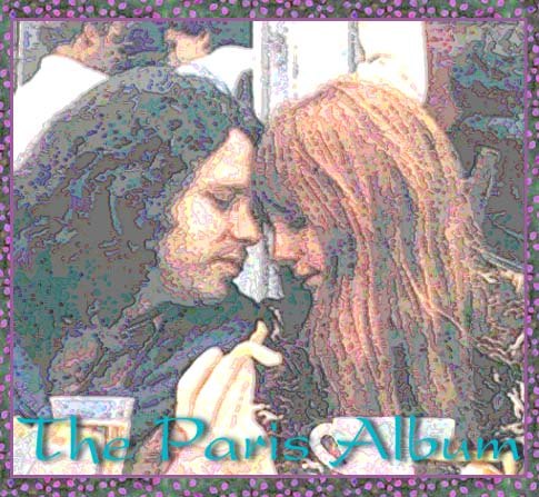 Jim Morrison & Pamela Courson in Paris